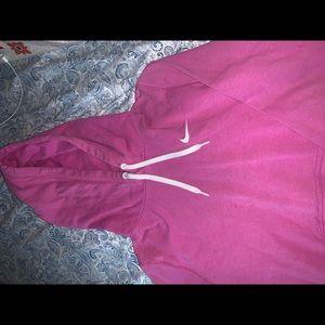 Women's Nike pink hoodie